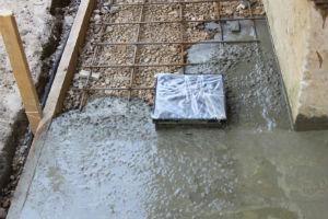 Монолитное основание для бетонной плитки