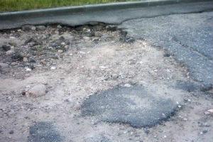 Укладка тротуарной плитки на асфальтовое покрытие