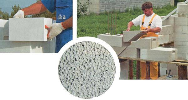 Газосиликат – тёплый, надёжны и крепкий материал