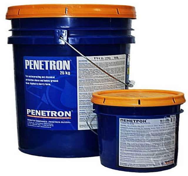Добавка в бетон Пенетрон