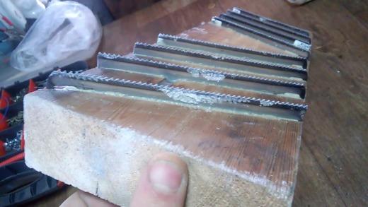 Пример правильно изготовленного инструмента