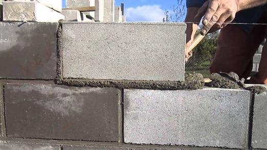 Кладка на цементный раствор