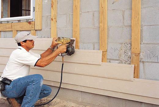 Обработка поверхности стен под защиту от влаги