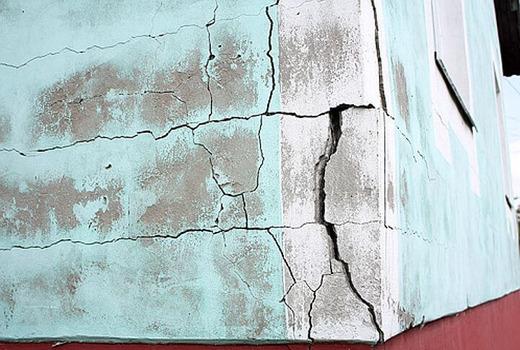Трещины на газоблоках