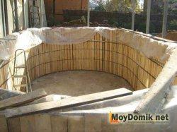 Накрытая чаша бассейна