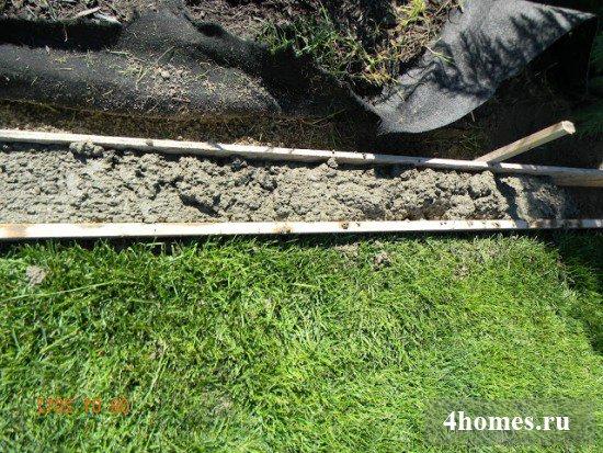 бордюр из бетона