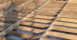 Укладка балок короткими прогонами