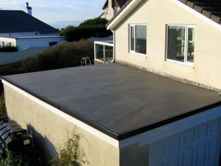 Заливка крыши гаража бетоном
