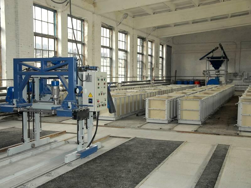 Производство пенобетонных блоков – высокотехнологичный процесс