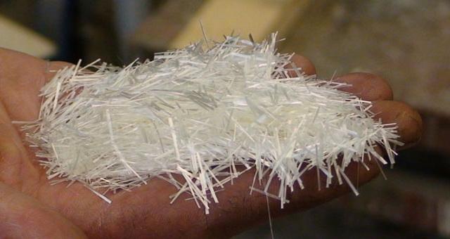 По составу стеклофибробетон