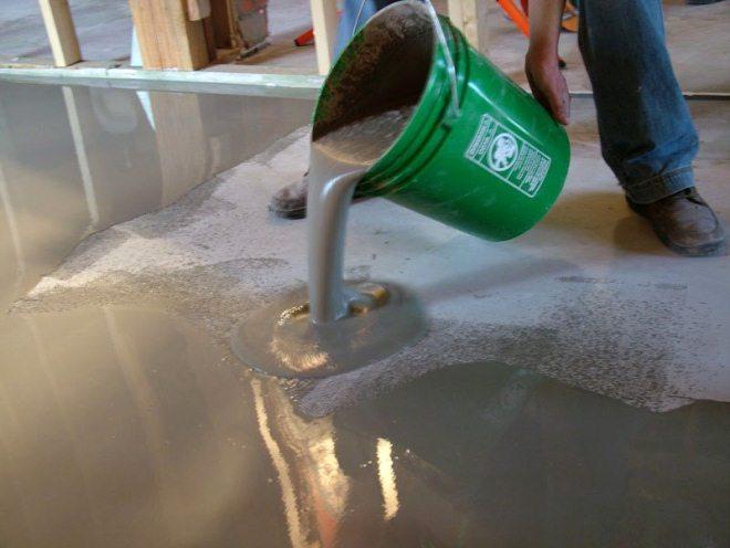 Смесь для затирки бетона