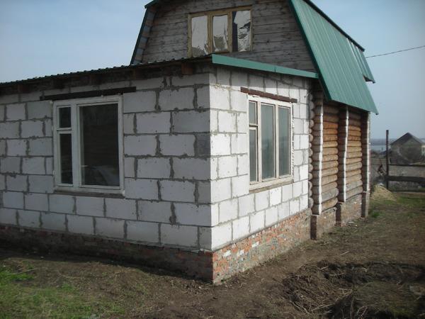 Крыша с низким наклоном из металлочерепицы