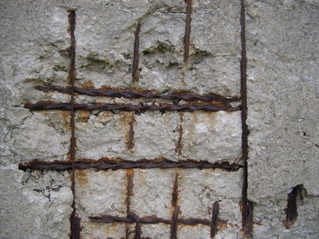Разрушение бетона