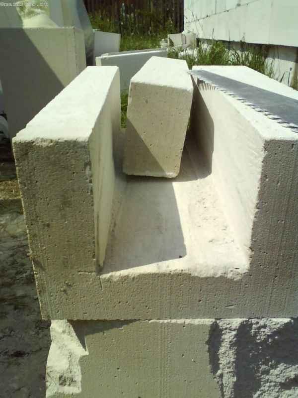 U-блоки газобетона