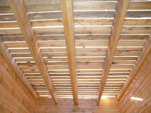 Межэтажные перекрытия из деревянных балок