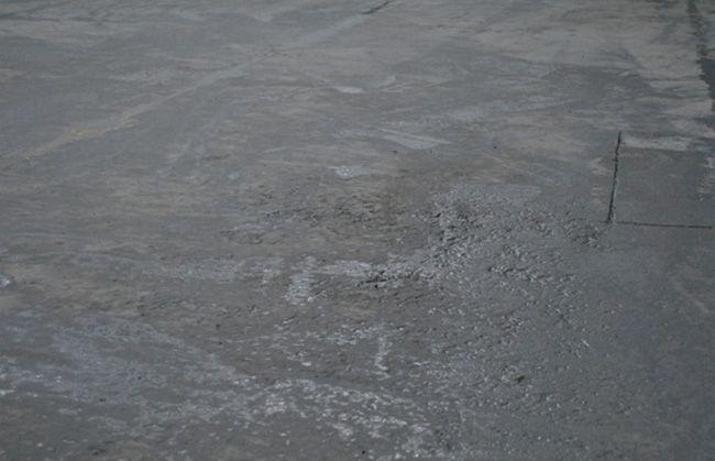 Дефекты бетонной стяжки