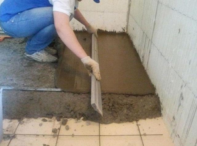состав бетонной стяжки