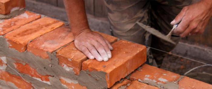 сколько надо цемента на 1 куб кладки кирпича