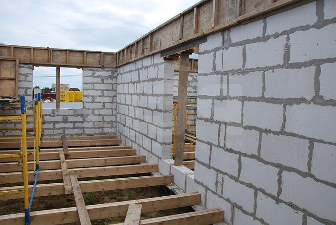 Газосиликатный дом с деревянными перекрытиями