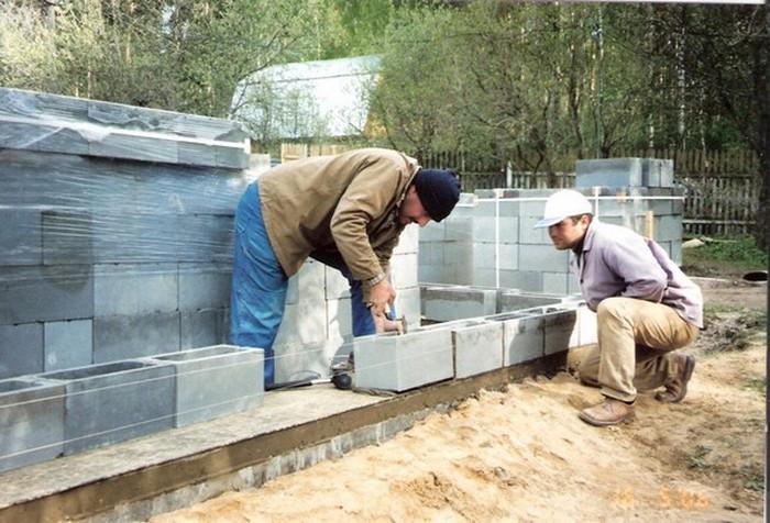 построить дом из шлакоблоков своими руками