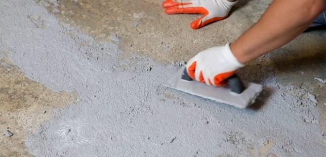 Затирка трещин в бетоне