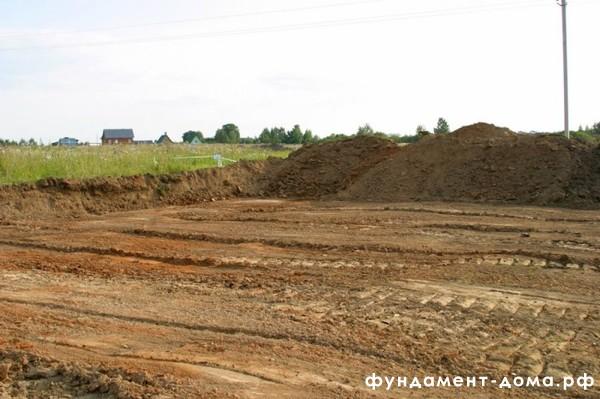 Подготовка строительного участка