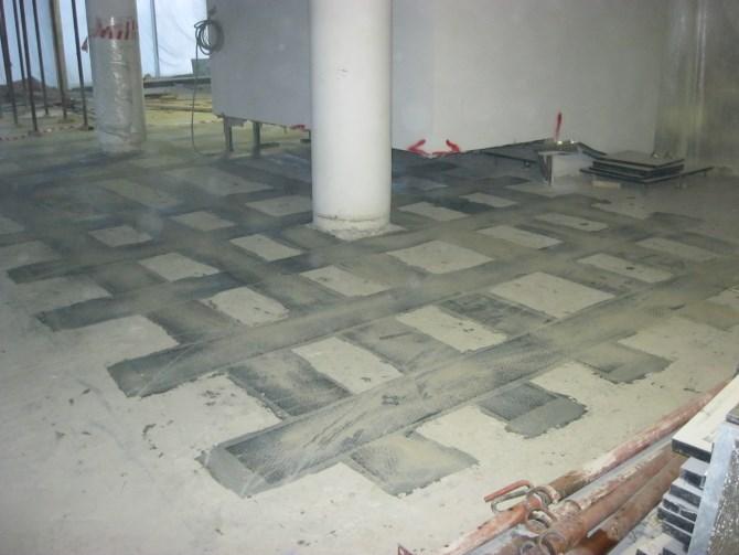 усиление композитом сборных плит перекрытий