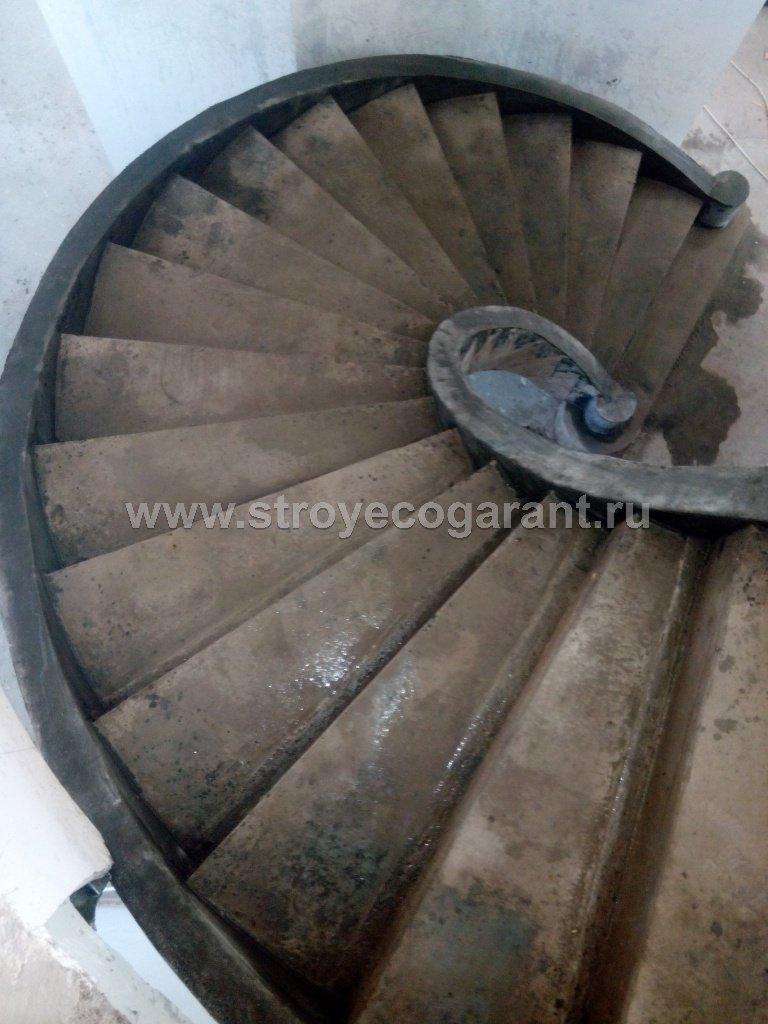 Строительство монолитных лестниц