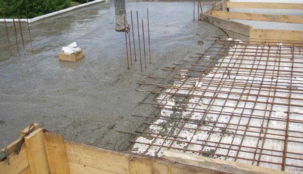 Марка бетона для перекрытия