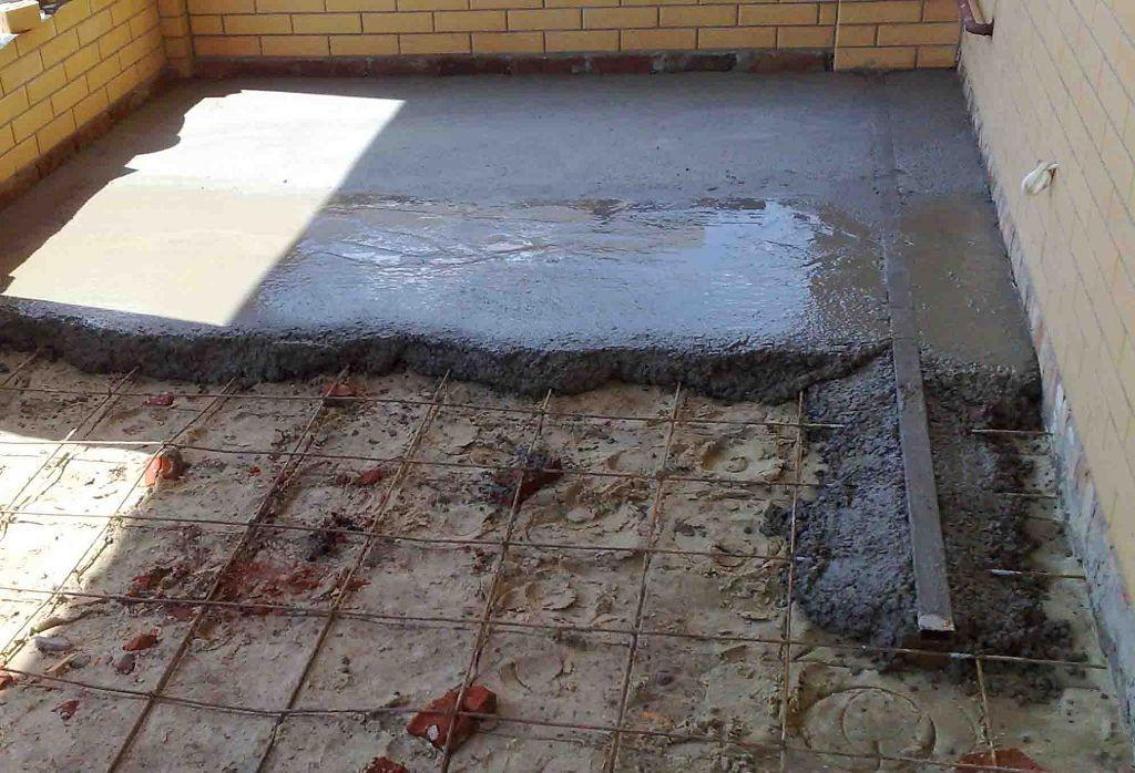 Арматура в бетонных полах