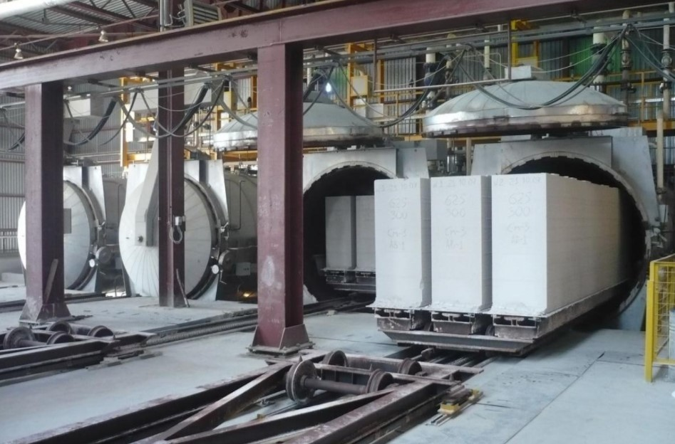 Автоклавная обработка – пропаривание в металлических капсулах (автоклавах) при высоком давлении