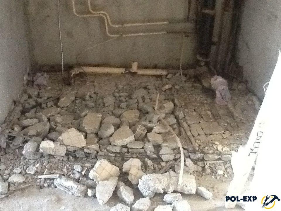 Демонтаж стяжки - фото