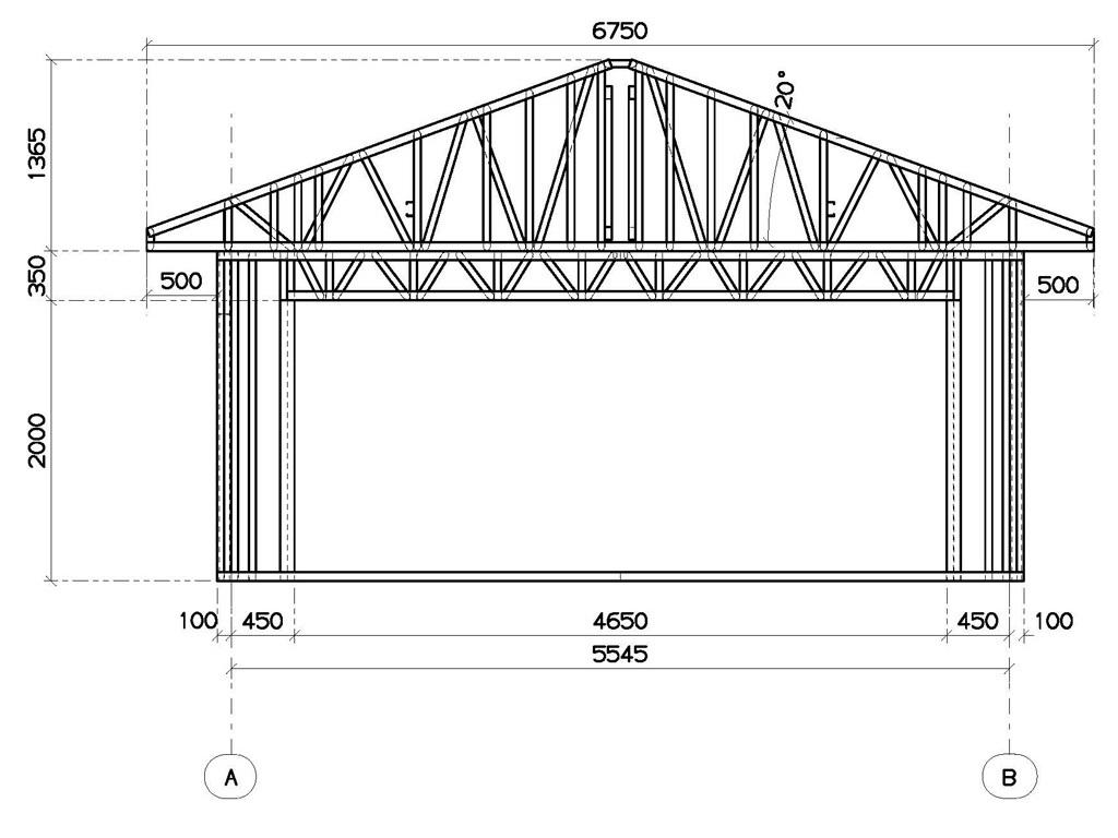 Количество рядов зависит от необходимой высоты гаража и способа укладки блоков