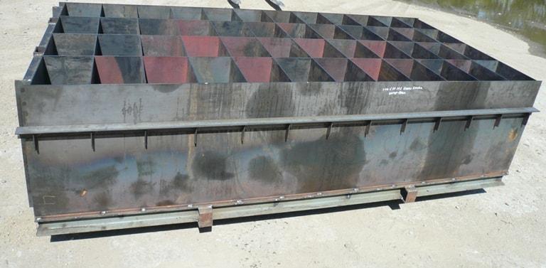 Готовая опалубка для изготовления керамзитовых блоков