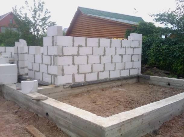 Как самостоятельно построить фундамент для дома из газосиликатных блоков