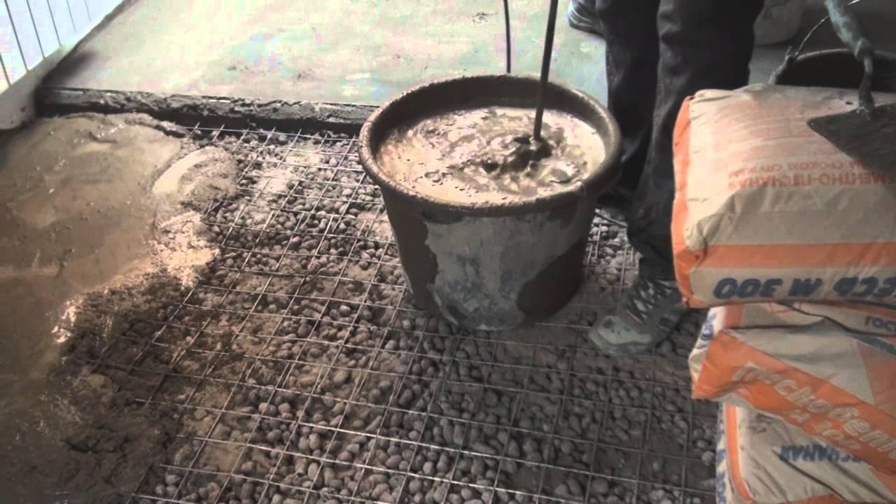 Так как точные пропорции для смешивания указать сложно, то смешивают до тех пор, пока гранулы по цвету станут похожи на цемент