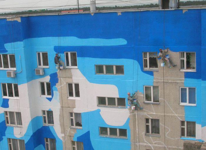 Краска должна быть устойчивой к загрязнениям