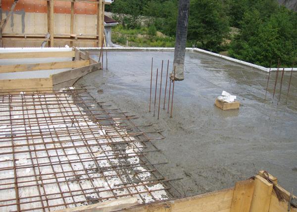 Бетонная смесь может доставляться к месту проведения работ или готовиться непосредственно на площадке