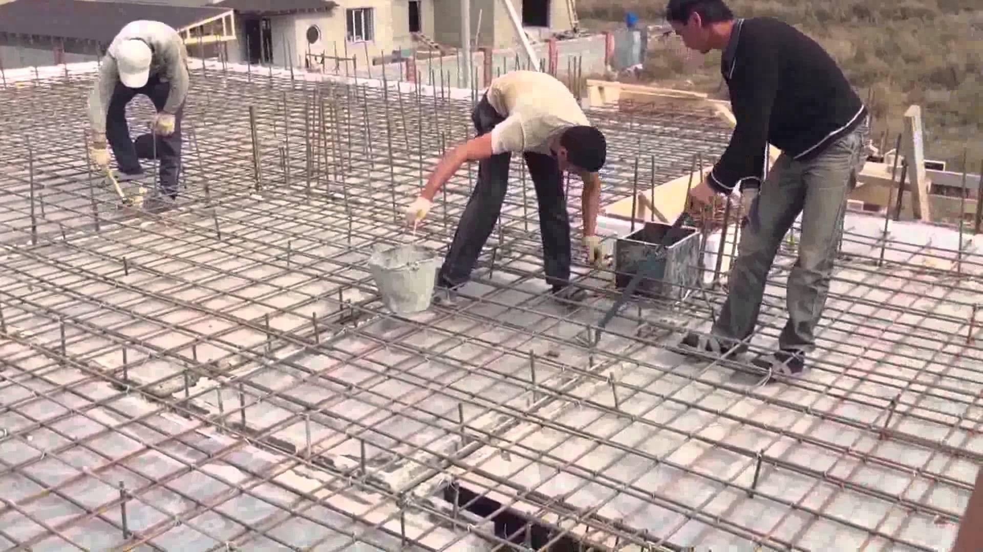 Для изготовления арматурного каркаса используется стальная арматура