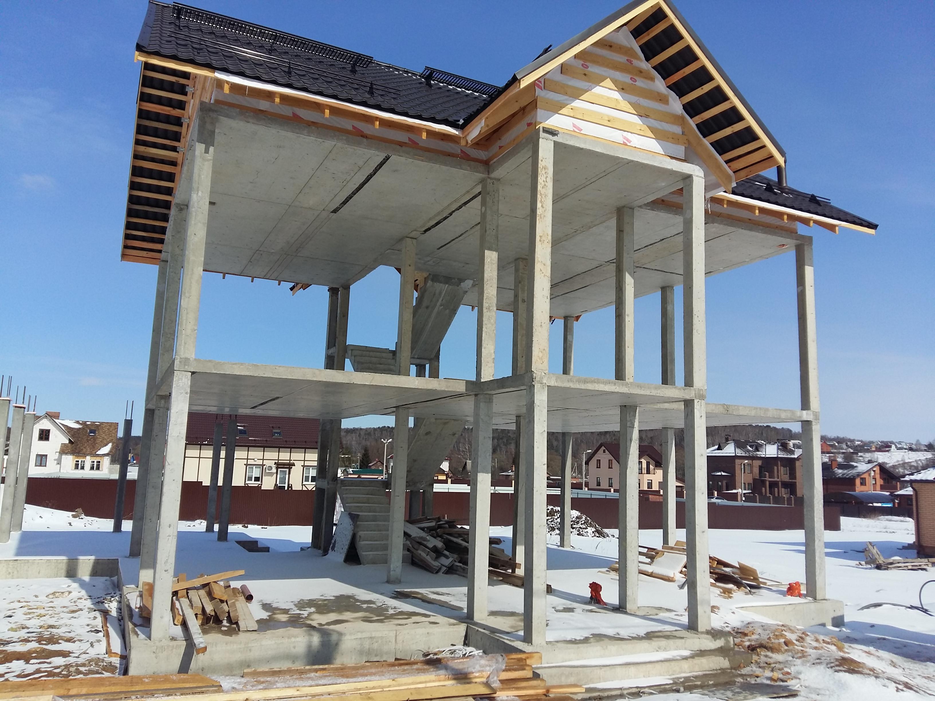 Монолитное строительство жилых зданий эффективное, практичное и экономное