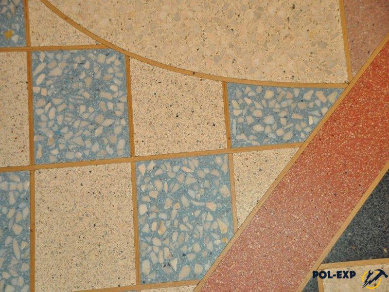 Мозаичные полы - фото