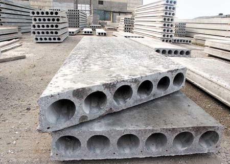 Многопустотные плиты перекрытия