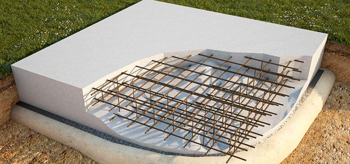 Удивительный тандем таких разных материалов, как бетон и железо создает надежное основание