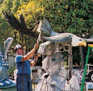 скульптура из бетона1