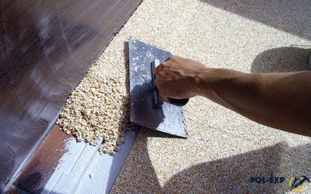 Технология устройства многоцветных бетонно-мозаичных полов