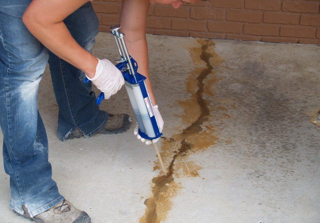 Очень важно правильно определить причину повреждений в бетонном монолите, ведь от этого напрямую зависит способ их ремонта