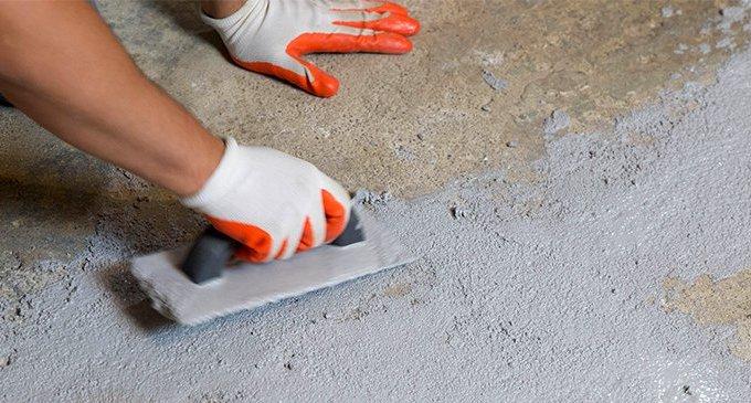 Подготовка бетонного пола под покраску