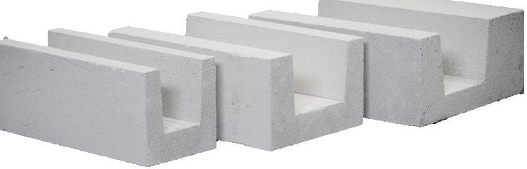 газобетонные u-блоки