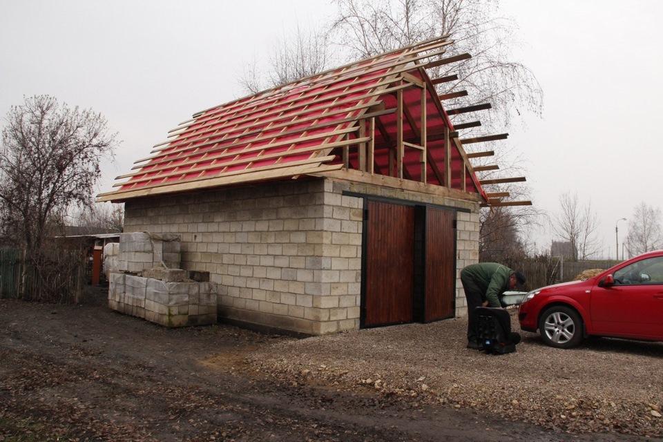 Расчет блоков для строительства гаража | Сколько нужно блоков на гараж: как рассчитать количество