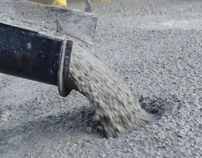 бетона на гранитном щебне